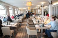 """Der neugestaltete Restaurantbereich """"Elbfeuer"""", Bildquelle schulauer-faehrhaus.de"""