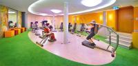 Multifunktionale Nutzung: Bei Bedarf verwandelt sich der neue Fitnesscenter im Landhotel Geyer ruckzuck in einen vollausgestatteten Veranstaltungsraum / Bildquelle: Top Hotel