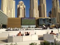 Hotelerlebnis der Spitzrklasse: Open Air TV im The Beach Hotel Bild
