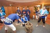 Bilder zur Oshogatsu Zeremonie, alle Bilder Okura Hotels