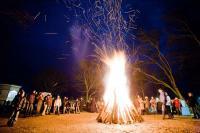 Lagerfeuer zu Silvester im Ostseebad Göhren / Bildquelle: Kurverwaltung Göhren