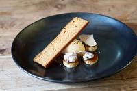 Eggnog-Eis mit Lebkuchen, Toffee und schwarzen Trüffeln / Foto ©Copyright Pacojet AG, Zug/Schweiz