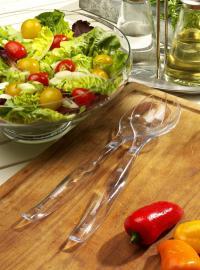 Transparentes Papstar Besteck für Salat, Bildqelle unic Consulting