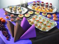 Papstar Tischdeko RC Catering lila;