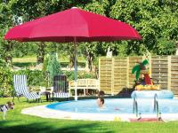 Der Para-Lux Schirm mit 5 Metern Durchmesser / Bildquelle: Alle K-Design Großschirme & Windschutz GmbH