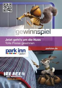 Gemeinsames Gewinnspiel von Ice Age und Park Inn by Radisson / Bildquelle: Alle Park Inn by Radisson