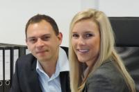 Sandra Bollmann und Bastian Elbauer bilden die neue Doppelspitze im Münchener Vertriebsteam von Party Rent / Bildquelle: Party Rent Group