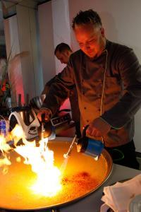Sterne-Koch-Event in der ReLaunch im Schlosshotel Bad Wilhelmshöhe / Foto: Party Rent