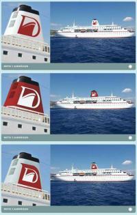 Zur Wahl stehen obere Gestaltungsvorschläge. Das Gewinnerdesign wird ab 12. Dezember 2013 bekanntgegeben / Bildquelle: Reederei Peter Deilmann GmbH