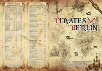 Ein Teil der Speisekarte des Pirates Berlin