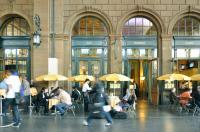 Pizzeria Atrio - in der Haupthalle des Zürcher Hauptbahnhofs, Bildquelle db marketingbüro