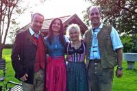 Peter Markgraf, Anja Lukaseder, Sonja und Markus Schmelmer (v.l.), Bildquelle snapshot Redaktionsbüro