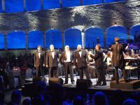 Die 5 Tenöre v.l.n.r.: Orfeo Zanetti, Stoyan Daskalov, Vincenzo Sanso, Valeri Georgiev und Luigi Frattola