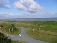 Der Nordseeküstenradwanderweg mit tollen Aussichten