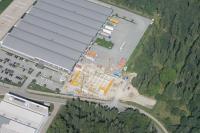 Luftaufnahme vom Neubau / Bildquelle: RATIONAL AG