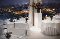 Die Nacht, der Tower, das Restaurant, Lichtermeer Amsterdam, wo bin ich? :-)