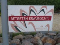 Jeder ist hier willkommen, auch der Rasen darf betreten werden... / Bildquelle: Sascha Brenning - Hotelier.de