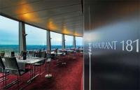 Die unkomplizierte Frischeküche im Restaurant 181Business hat der Panoramaaussicht des Drehrestaurants im Münchener Olympiaturm längst den Rang abgelaufen