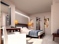 Musterbild eines renovierten Zimmers im ROBINSON Club Pamfilya/Türkei