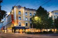 Wenn es Nacht wird in Graz  - das Romantik Parkhotel Graz in der Dämmerung