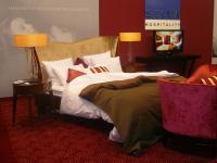 Kollektion Vendôme auf der Intergastra 2012: verführerisch, lebensbejahend, magisch - zum Träumen, sich einmal königlich zu betten / Bildquelle: Alle Selva Hospitality