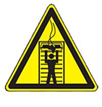 Warnhinweis für Konvektomaten