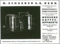 1924: Geburtsstunde der ersten Schaerer Kaffeemaschine / Copyright: Alle © Press'n'Relations