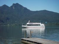 Mit dem Motorschiff zum Industriedenkmal. Foto: Tourist Information Kochel a. See