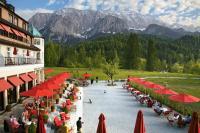 Ruhe und Entspannung auf der Teesaal-Terrasse