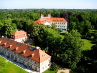 Das Schlossensemble Lübbenau aus der Luft / Bildautor: Marcel Blasseck