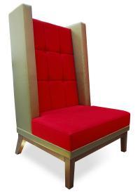 Behaglichkeit neu definiert: Der XXL Ohrensessel von Schnieder, Modell 12520, macht sich in Loungebereichen genauso gut wie in der Bar und im Hotelzimmer: Ob ein- oder mehrfarbig, in Leder oder Stoff