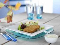 Schnitzel Reismelonensalat / Bildquelle: Medienbüro Mendack