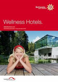 Wellness Hotels. Broschüre Cover Page / Bildquelle: Switzerland Tourism