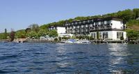 Seehotel Leoni Blick vom See