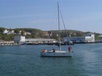 Dieses Segelboot vor Rügen macht vielleicht auch mit / Bildquelle: Sascha Brenning - Hotelier.de