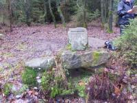 Der Siegfriedbrunnen bei Grasellenbach