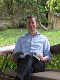 Simon Spiller - Hotelmanager des The Chedi Club at Tanah Gajah, alle Bilder segara Kommunikation®
