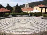 Six Senses Spa Labyrinth