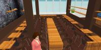 Die illustrierte Lobby im Smart Stay Hotel Frankfurt / Bildquelle: SMART STAY GROUP