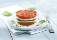 Traiteur de Paris: Millesfeuille mit Tomate und Mozzarella