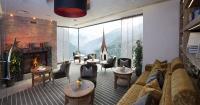 Lounge mit schöner Aussicht auf Finkenberg