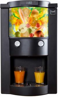 Der flexible Bag-in-Box Dispenser von Squell GmbH, gleichzeitig Bildquelle