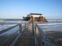 Gastronomisches Highlight mitten in der Nordsee: Strandbar 54 Grad Nord*