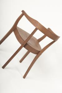 Passt super zum Vintage Look: Stuhl