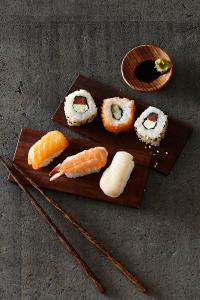 Sushi - schon vom Food Design her ein Genuß; Bildquelle Deutsche See