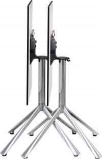 T-Rack Table platzsparend geklappt