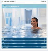 In Facebook Booking App Tamina Therme (Copyright Grand Resort Bad Ragaz)