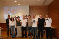 Das TAC Team mit Seminarleiter Hary Gruber (1.v.l.)