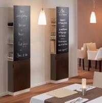 Clevere Tafelkombinationen und Design, das ins Auge fällt: die neue Tafelkombination Creation by VEGA mit Speisekartenhalter, viel Stauraum und Unterschrank