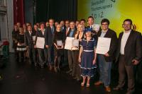 Die strahlenden 3. Gewinner von Teamgeist / Bildquelle: Teamgeist GmbH